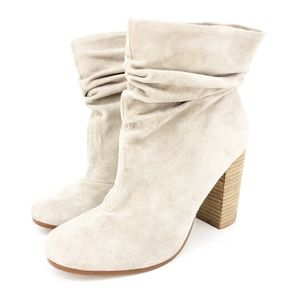 Kristin Cavallari-Chinese Laundry Tan Suede Boots